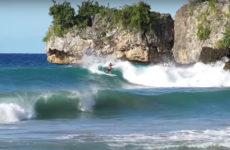 Ben Bourgeois en surf trip en République Dominicaine
