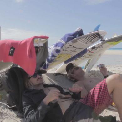Ben Bourgeois surf trip Caraibes